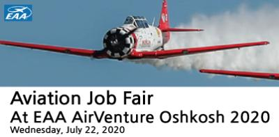 Aviation Job Fair, At EAA AirVenture Oshkosh 2020